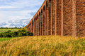 Culloden viaduct scotland uk nairn train aka Stock Photo