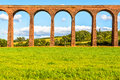Culloden viaduct scotland uk nairn train aka Stock Image