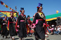 Cultural procesion during Ladakh festival Stock Photos