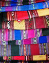 Cultural textiles artistic variety shade tone colors ornaments patterns of thai silk with traditional decoration ornaments design Stock Image