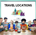 Cultural travel locations shrine traditional concept Royalty Free Stock Image