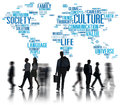Culture Community Ideology Society Principle Concept Royalty Free Stock Photo