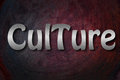Culture concept text backgroud social Stock Photo