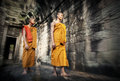 Culture Contemplating Monk Buddhism Traditional Concept Royalty Free Stock Photo