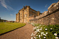 Culzean castle ayrshire scotland is a palatial cliff top country house designed by robert adam for the earl of cassilis in and Royalty Free Stock Images