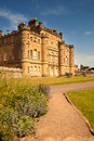 Culzean castle ayrshire scotland is a palatial cliff top country house designed by robert adam for the earl of cassilis in and Royalty Free Stock Photo