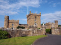 Culzean castle beautiful day in near maybole Stock Photo