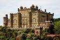 Culzean Castle in Scotland Royalty Free Stock Photo