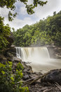 Cumberland Falls in Corbin, Kentucky Royalty Free Stock Photo