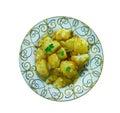 Cumin Seed Potatoes . Royalty Free Stock Photo