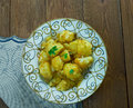 Cumin Seed Potatoes . Royalty Free Stock Photo