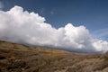 Cumulo Nimbus Clouds, Dorset Coast, England Royalty Free Stock Photo