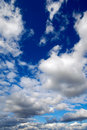 Cumulus clouds Royalty Free Stock Image