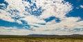 Cumulus Clouds over Utah Royalty Free Stock Photo