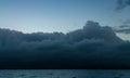 Cumulus Congestus, Guadeloupe Royalty Free Stock Photo