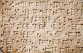 Cuneiform writing Stock Images