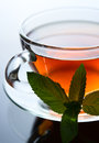 Cup of black tea Stock Photography