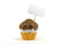 Cup cake Royalty Free Stock Photo