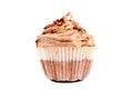 Cup cake isolated Royalty Free Stock Photo