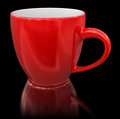 Cup clipping path included image of image with Royalty Free Stock Photo