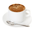 Cup of coffee cappuccino Royalty Free Stock Photos