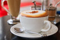 Cup of Coffee Cappuccino or latte Royalty Free Stock Photo