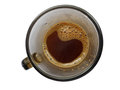 Cup Of Coffee Low Level Isolated