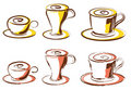 Cup of coffee, vector Stock Photo