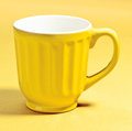 Cup of fine porcelain Stock Images
