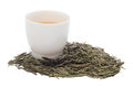 Green tea cup Royalty Free Stock Photo
