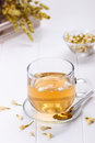 Cup of jasmine tea Royalty Free Stock Photo