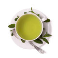 Cup of mint tea Royalty Free Stock Photo