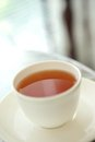 Cup popular hot chinese brown tea Royalty Free Stock Images