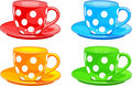 Cup and saucer Royalty Free Stock Images
