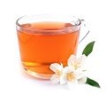 Cup of tea with jasmine Royalty Free Stock Photo