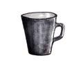Cup watercolor, sketch watercolor.