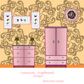 Cupboard and Commode