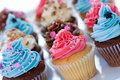 Cupcake assortment Royalty Free Stock Photo