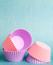 Cupcake forms Stock Photos
