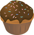 Cupcake muffin Royalty Free Stock Photography