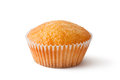 Cupcake in paper bakeware. Closeup. Royalty Free Stock Photos