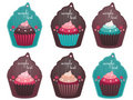 Cupcake tags Royalty Free Stock Photography
