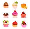 Cupcakes Assortment Set