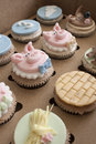 Three Little Pigs Cupcakes Royalty Free Stock Photo