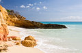 Cupecoy Beach Sint Maarten Royalty Free Stock Photo