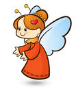 Cupid angel Stock Images
