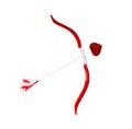 Cupid´s bow and arrow
