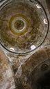 Interior of ancient Hagia Irene church in Topkapi