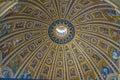 Cupola of Basilica San Pietro Royalty Free Stock Photo