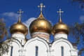 Cupola of church of the assumption of the mary in yaroslavl russia Royalty Free Stock Images